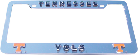 Tennessee Volunteers License Plate Frame 3D