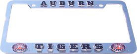 Auburn Tigers License Plate Frame 3D