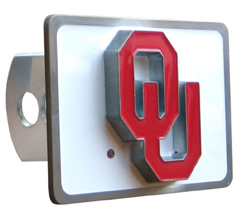 Oklahoma Sooners Hitch Cover