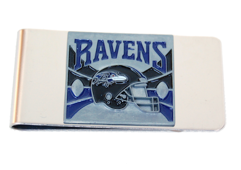 Baltimore Ravens Money Clip