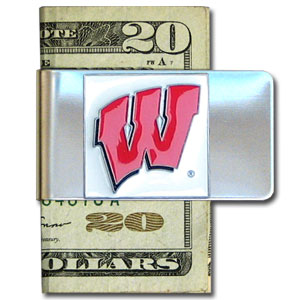 Wisconsin Badgers Money Clip