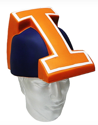 Illinois Fighting Illini Foamhead