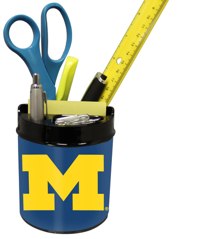 Michigan Wolverines Small Desk Caddy
