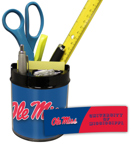 Mississippi (Ole Miss) Rebels Small Desk Caddy