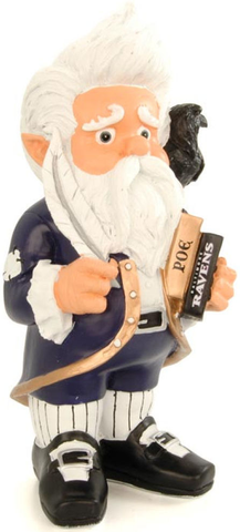 Baltimore Ravens Garden Gnome Thematic