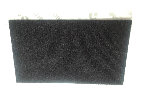 PT Helmets Black Velcro Loop Patch