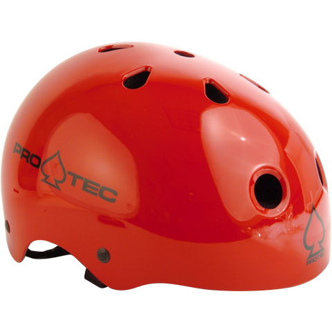 PROTEC CLASSIC GLOSS RED HELMET