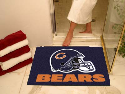 Chicago Bears Shower Rug