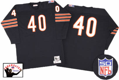 Chicago Bears Gale Sayers 1970 Dark Jersey - 56 (3XL)
