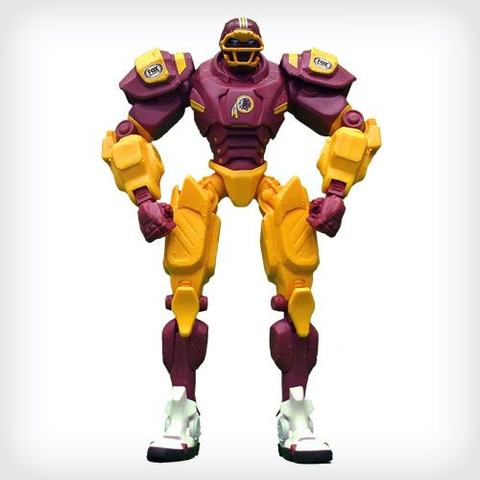 Washington Redskins FOX Robot Action Figure