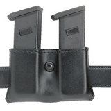 DBL MAG HOLDER BW BLK 2 1-4""