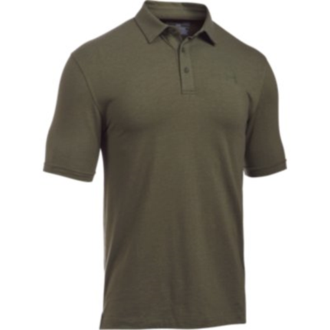 UA Tactical Charged Cotton Polo
