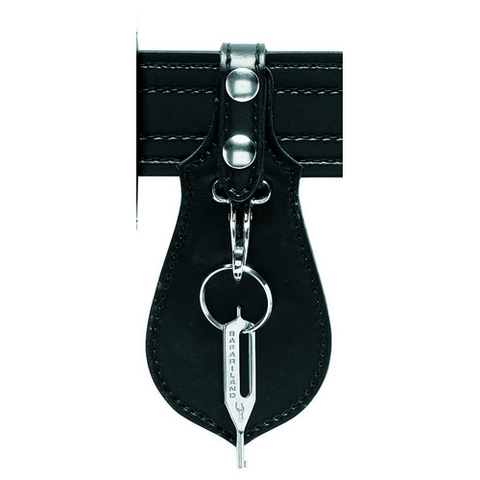 KEY HOLDER BW. BLK.