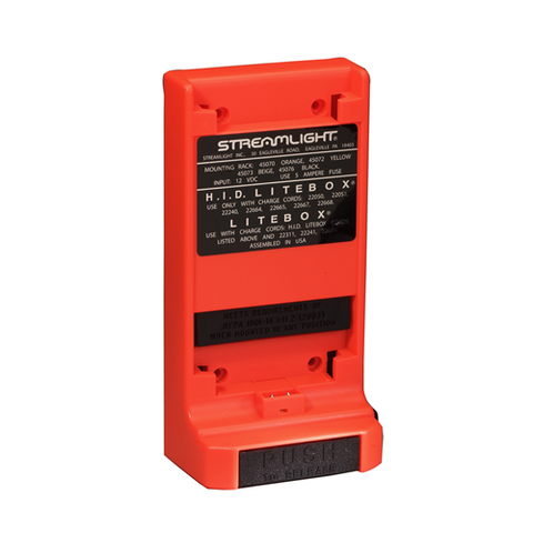 MOUNTING RACK  12V DC, ORANGE