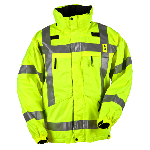 3-In-1 Reversible High Visibility Parka