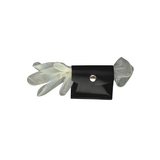 RUBBER GLOVE POUCH BLK BW
