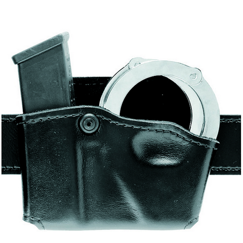 Open Top Magazine and Handcuff Pouch