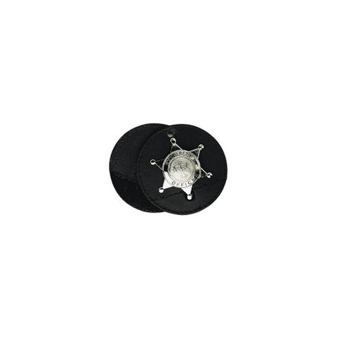 "3 1-2"" ROUND BADGE HOLDER, SWI"