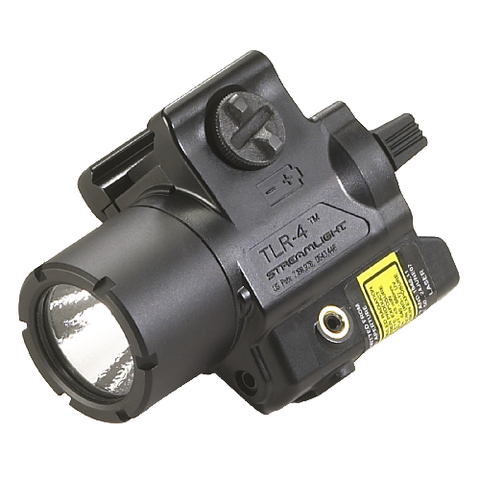 A TLR-4 Weapons Mounted Light With Rail Locating Keys For A Variety Of Weapons