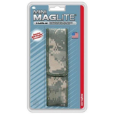 AA Mini Mag Nylon Holster - Digital CAMO