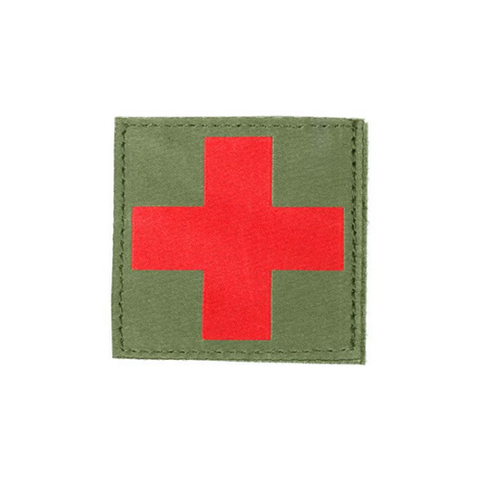 Red Cross Id Patch