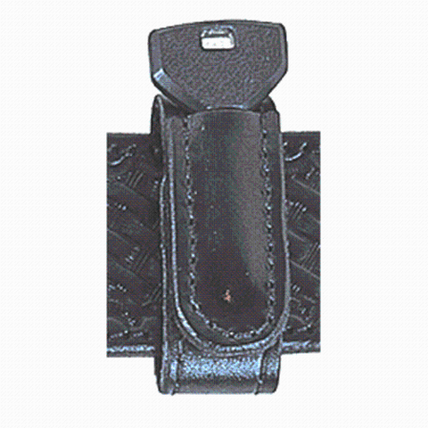 "STALLION LEATHER - 1"" WIDE BELT KEEPER W- SPARE KEY SLOT"