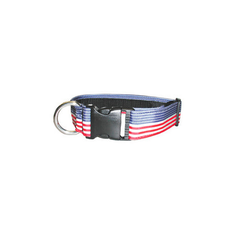 PATRIOTIC NYLON COLLAR