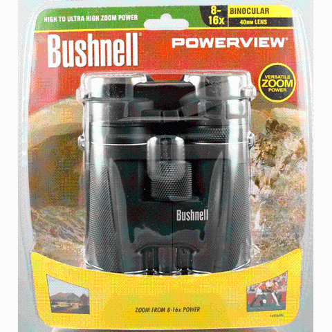 Bushnell - Powerview Roof Prism Binoculars