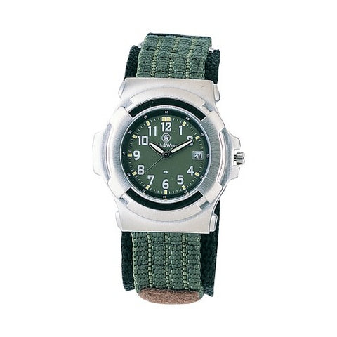 Basic Watch - Nylon Strap, Oli