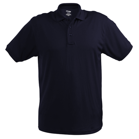 Women's Navy UFX Ultra-Light Short Sleeve Ladies Cut Polo Shirt