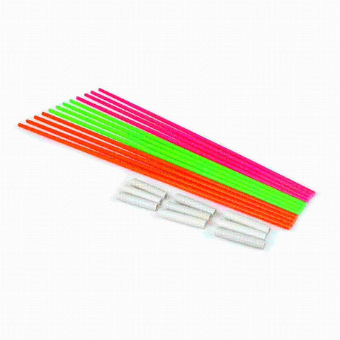 MULTI-COLOR FORENSIC RODS (12