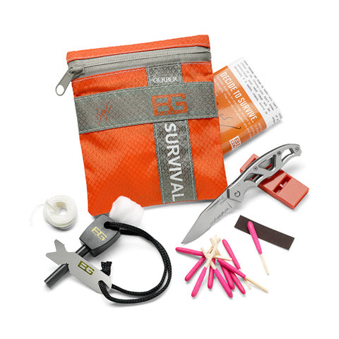 SURVIVAL BASIC KIT, CLAM
