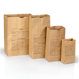 PAPER BAGS, STYLE 25  (100)