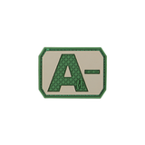 A- NEG Blood Type Patch