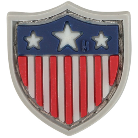 "USA Shield Micropatch 0.8"" x 0.9"" (Glow)"