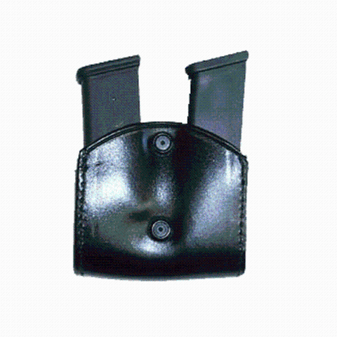 STALLION LEATHER - DOUBLE MAGAZINE HOLDER