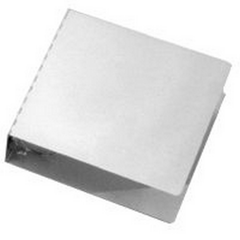 "10""x11 3-4"" Aluminum 3"" 3 Ring Binder"