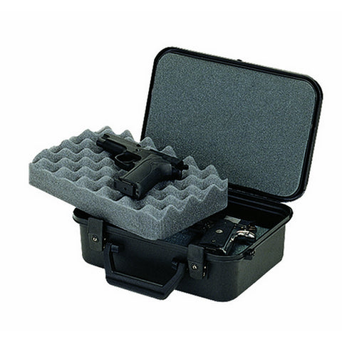 XLT-12 TWO PISTOL CASE - BLACK