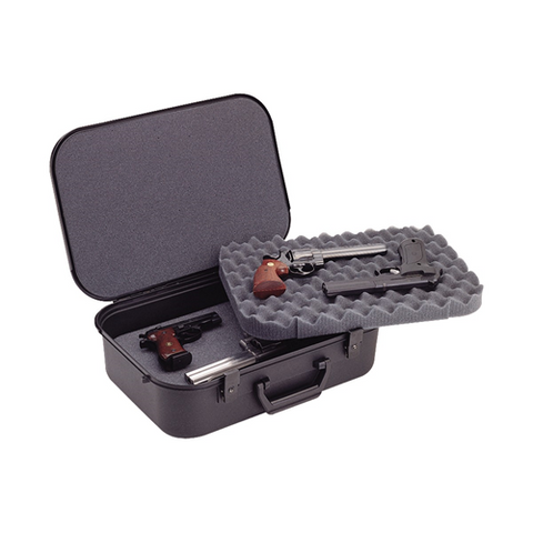 XLT-18 FOUR PISTOL CASE- BLACK