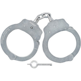 700CN Chain Handcuff Nickel (10Pk)