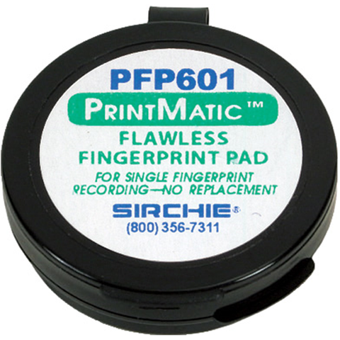 "Sirchie - PrintMatic™ Flawless Ink Pad, 1-5-8"" diameter"