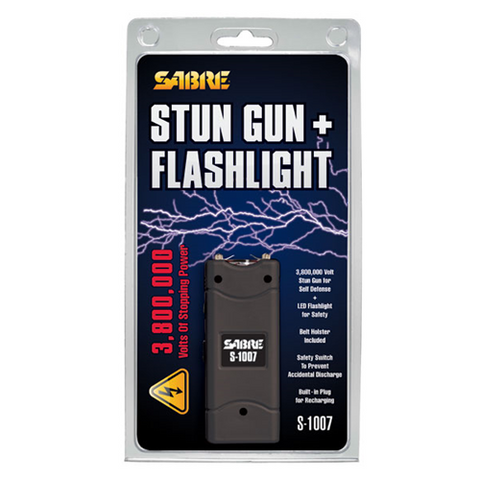 SABRE - 3.8 Million Volt Stun Gun Black
