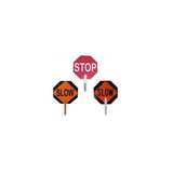 "18"" PADDLE SIGN - STOP-SLOW"