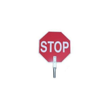 "18"" PADDLE SIGN - STOP-STOP"