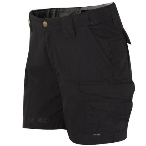 24-7 Series Women's Shorts Black Size 4