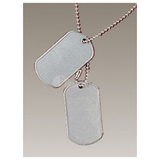 5ive Star - Gi Stainless Dog Tag