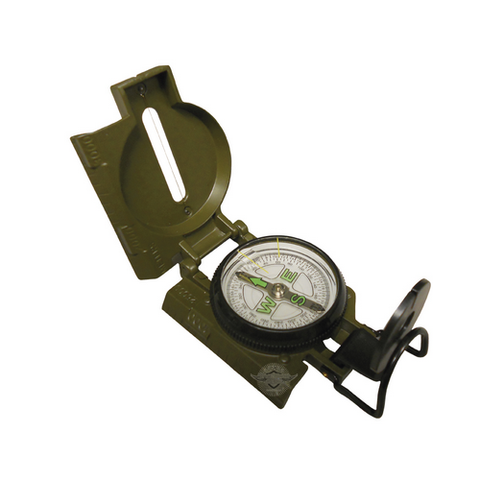 Olive Drab Gi Spec Lensatic Military Marching Compass