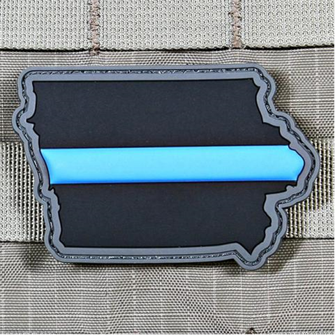 """Every State In Thin Blue Line"" Patch Series"