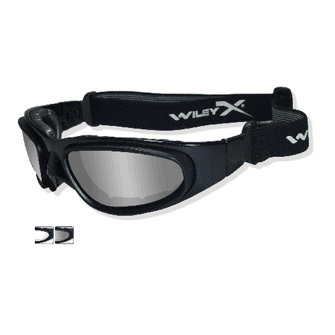 Wiley X - SG-1 Frame Only, Matte Black W- Accessories