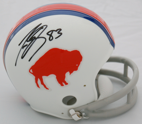 Lee Evans Buffalo Bills Autographed Mini Helmet